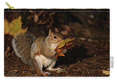 Autumn Squirrel Carry-all Pouch