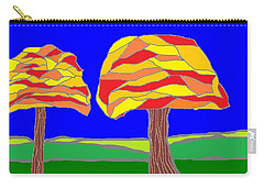 Autumn Stained Glass 1 Carry-all Pouch
