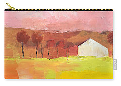 Carry-all Pouch featuring the painting Autumn Stillness by Michelle Abrams