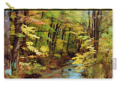 Autumn Stream Carry-all Pouch