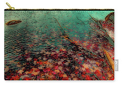 Carry-all Pouch featuring the photograph Autumn Submerged by David Patterson
