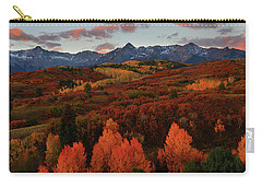 Autumn Sunrise At Dallas Divide In Colorado Carry-all Pouch