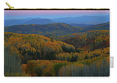 Autumn Sunrise At Rainbow Ridge Colorado Carry-all Pouch