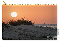 Carry-all Pouch featuring the photograph Autumn Sunset by Arik Baltinester