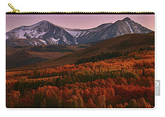 Autumn Sunset At Conway Summit In The Eastern Sierras Carry-all Pouch