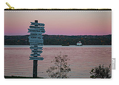 Autumn Sunset At Esopus Meadows Carry-all Pouch
