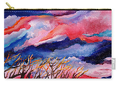Autumn Sunset In The Sky Carry-all Pouch