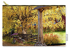 Rural Rustic Autumn Carry-all Pouch