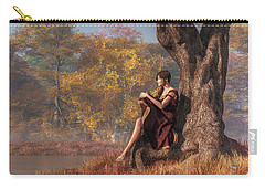 Autumn Thoughts Carry-all Pouch by Daniel Eskridge
