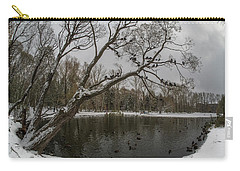 Carry-all Pouch featuring the photograph Autumn Time 2 by Vladimir Kholostykh