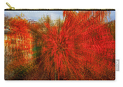 Carry-all Pouch featuring the photograph Autumn Time by Vladimir Kholostykh
