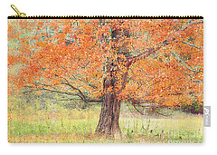 Carry-all Pouch featuring the photograph Autumn Tree by Geraldine DeBoer