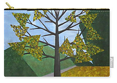 Autumn Tree Carry-all Pouch by Tamara Savchenko