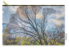 Autumn Tree Carry-all Pouch by Vladimir Kholostykh