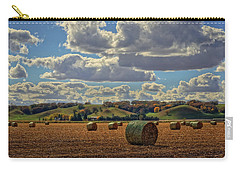 Autumn Valley Bales Carry-all Pouch by Bruce Morrison