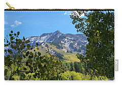 Autumn View Through Aspen Leaves Carry-all Pouch