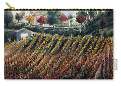 Autumn Vines Carry-all Pouch by Roxy Rich