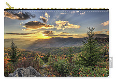 Autumn Warmth Blue Ridge Moutains Carry-all Pouch