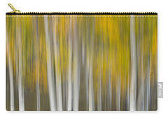 Carry-all Pouch featuring the photograph Autumn Was A Blur by Patricia Davidson