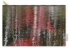 Carry-all Pouch featuring the photograph Autumn Water Color by Susan Capuano