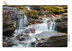 Autumn Waterfall Carry-all Pouch by Shelby  Young