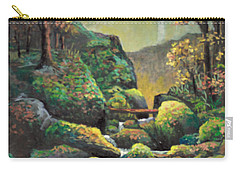 Autumn Waterfalls Carry-all Pouch