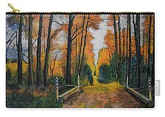 Autumn Way Carry-all Pouch by Ron Richard Baviello
