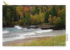 Autumn Winds And Color Carry-all Pouch by Rachel Cohen