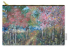 Autumn Woodland Carry-all Pouch by Judy Via-Wolff