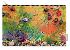 Autumnal Enchantment Carry-all Pouch by Donna Blackhall