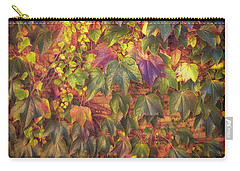 Autumnal Leaves Carry-all Pouch