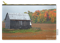Carry-all Pouch featuring the photograph Autumnal.. by Nina Stavlund