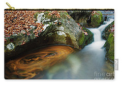 Autumnal Stream Carry-all Pouch by Yuri Santin