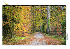 Autumnal Walkway Carry-all Pouch