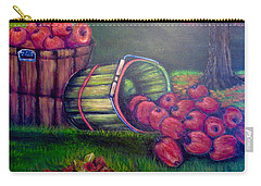 Carry-all Pouch featuring the painting Autumn's Bounty In Tennessee by Kimberlee Baxter