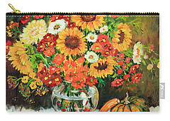 Autumn's Bounty Carry-all Pouch by Alexandra Maria Ethlyn Cheshire