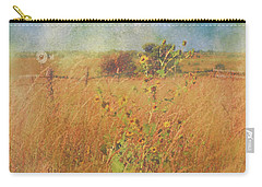Carry-all Pouch featuring the photograph Autumn's Breath by Anna Louise