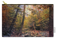 Carry-all Pouch featuring the photograph Autumn's Early Evening by John Rivera