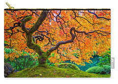 Autumn's Jewel Carry-all Pouch by Patricia Davidson