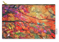 Autumns Splendorous Canvas Carry-all Pouch