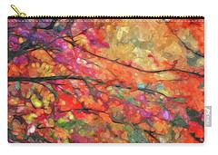 Autumns Splendorous Canvas Carry-all Pouch by Andrea Kollo