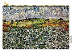 Carry-all Pouch featuring the painting Landscape Auvers28 by Pemaro