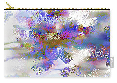 Carry-all Pouch featuring the digital art Ava Sprite by Constance Krejci
