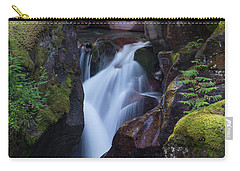 Carry-all Pouch featuring the photograph Avalanche Gorge 3 by Gary Lengyel