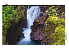 Carry-all Pouch featuring the photograph Avalanche Gorge 4 by Gary Lengyel
