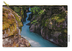 Carry-all Pouch featuring the photograph Avalanche Gorge 5 by Gary Lengyel