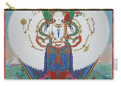 Avalokiteshvara Lord Of Compassion Carry-all Pouch