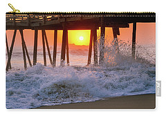 Avalon Fishing Pier Sunrise Carry-all Pouch