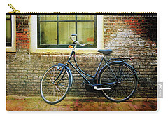 Carry-all Pouch featuring the photograph Avancer Bicycle by Craig J Satterlee