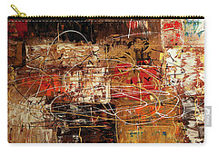 Carry-all Pouch featuring the painting Avant Garde by Carmen Guedez
